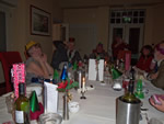 Christmas dinner on the  24th November at the Metropole Hotel Llandrindod Wells (Photo by: Gary)