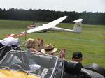 Fly Drive - Glider Display (Sunday June 30th 2013)(Photo by: Geoff)