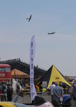 Grand Gathering 2013 - Silverstone Classic - Fly past to celebrate!!!!! (26th -28th July 2013)(Photo by: Val)