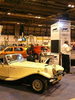 NEC Classic Car Show - 15th November 2013 - Some first shots of the NEC show, our club stand. (Photo by: Terry B.)