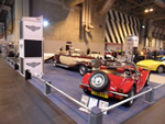 NEC Classic Car Show - 15th 16th  17th November 2013 - The stand in its splendor (Photo by: Val)