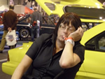 NEC Classic Car Show - 15th 16th  17th November 2013 - Nothing like a quick nap!!! (Photo by: Val)