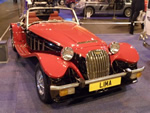 NEC Classic Car Show - 15th 16th  17th November 2013 - The Lima looking the part!! Nice car (Photo by: Val)