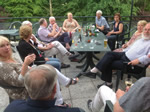 Alsace Trip. 20-27th June 2014 - Enjoying themselves