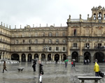 Salamanca Plaza Mayor - Panther Trip to Northern Spain & Portugal with Brittany Ferries (7th - 21st June 2015) (Photo by: Andy G. and Mike Bamford )