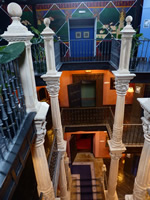 Northern Spain trip - 17th June- 4th July 2018 - The Stairwell in the Hotel abba Palacio de Sonanes, Villacarriedo