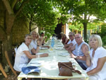 Northern Spain trip - 17th June- 4th July 2018 - Ureuna: at Alison�s restaurant for dinner