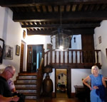 Northern Spain trip - 17th June- 4th July 2018 - Toro: Hilgo�s entrance hall