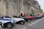 International Grand Gathering 2019 at the Historique Laon - 7th-10th June 2019 - Lined up ready for the circuit Laon