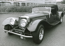 Panther Cars History - J72