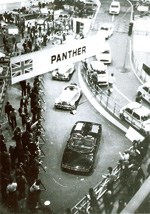 1977 Motor show of the Panther Stand