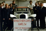 Panther cars Harlow - Start of production - 29th February 1988